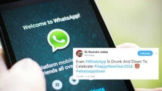 WhatsApp Goes Down On New Year's Eve, Twitterati Comes Up With Hilarious Reactions