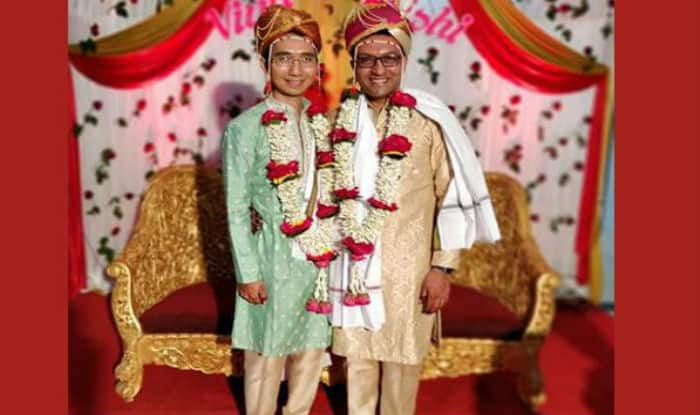 US-based Indian engineers ties knot with gay love in Yavatmal. (ANI)