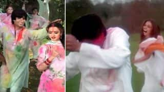 Holi 2018 : Amitabh Bachchan -Rekha In Silsila, Shah Rukh Khan-Aishwarya Rai Bachchan In Mohabbatein, 5 Iconic Bollywood Scenes Of The Festival Of Colours