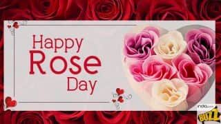 Happy Rose Day 2018: Best Wishes, Greetings, WhatsApp And Facebook Messages to Send Your Valentine