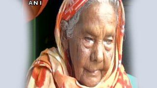 106 साल की कुंवर बाई का देहांत, पीएम मोदी ने छूए थे इनके पैर