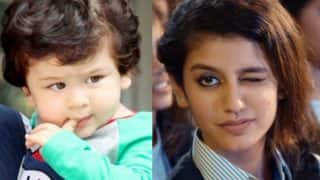 Taimur Ali Khan Is Unhappy With Priya Prakash Varrier Taking Away All The Limelight? This Viral Meme Suggests So