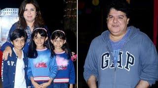 Sajid Khan Celebrates Anya, Czar And Diva Kunder's 10th Birthday At His Residence - View Pics