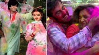 Holi 2018: Amitabh Bachchan's Rang Barse, Ranbir Kapoor's Balam Pichkari - Top 7 Holi Songs Of All Time - Watch Videos