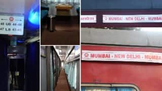 Indian Railways Upgrade New Delhi-Mumbai Rajdhani Under Swarn Project: See Pictures Here