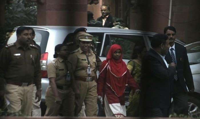 Allow me to lead a life with my husband, appeals Hadiya