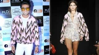 When Ranveer Singh Stepped Out In A Woman's Jacket, Aced Gender Neutral Fashion And Had Our Heart