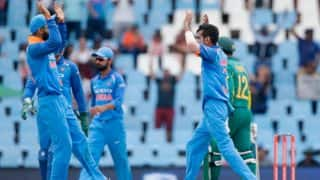 सेंचुरियन वनडे: कुलदीप, चहल ने दक्षिण अफ्रीका को 'न्यूनतम' स्कोर पर किया ढेर