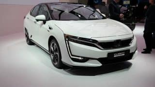 Honda Clarity Fuel Cell Vehicle Debuts at Auto Expo; Features, Specifications, Details Inside