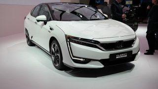 Auto Expo 2018: Honda Clarity Fuel Cell Showcased at the Expo