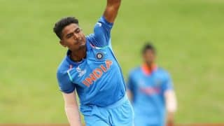 Anukul Roy Finishes as Joint-Highest Wicket-Taker in The ICC U19 Cricket World Cup 2018
