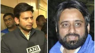 Delhi Chief Secretary Anshu Prakash Alleged Assault Case: Court Rejects Bail Plea of AAP MLAs Amanatullah Khan, Prakash Jarwal