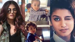 Priya Prakash Varrier's Old School Romance, Taimur Ali Khan-Yash Johar Playing The Piano, Aishwarya Rai Bachchan's Look From Fanne Khan Feature In This Week's Viral Pics