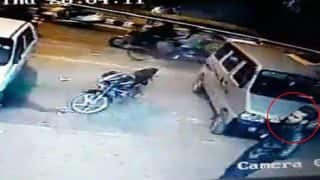 Ankit Saxena Murder Case: Delhi Photographer's Last Moments Captured on CCTV - Watch