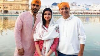 Arjun Kapoor Gives Namastey England The Perfect Start; Visits Golden Temple With Parineeti Chopra On The First Day Of Shoot