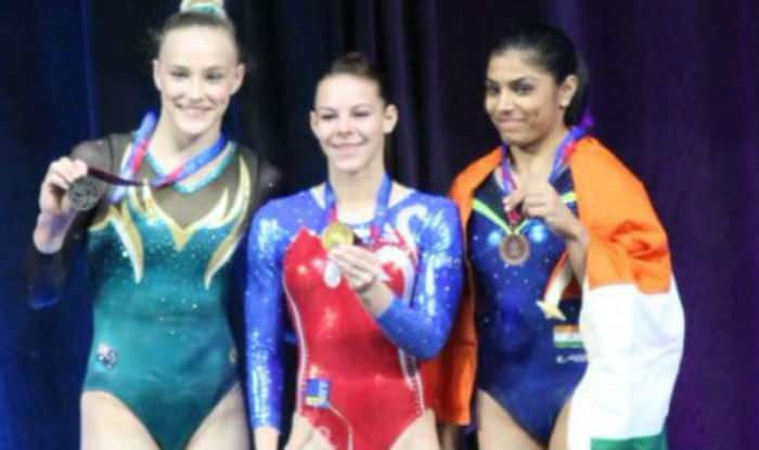 Aruna Budda Reddy creates history, clinches bronze in women's vault