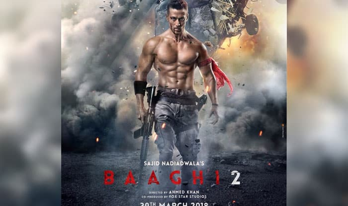 Tiger Shroff Unveils Baaghi 2 First Look Poster