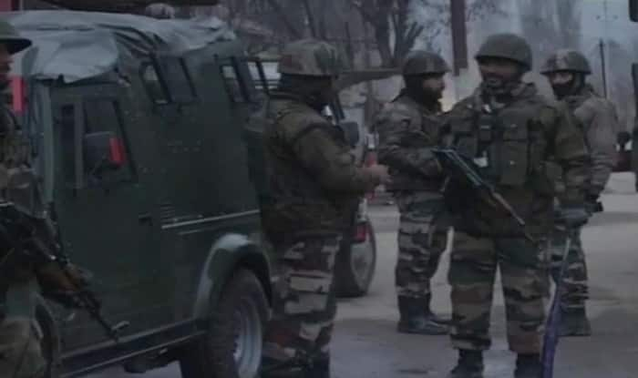 Terrorists break security cordon to escape as youth pelt stones