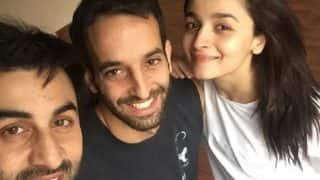 Alia Bhatt And Ranbir Kapoor Take A Break From Brahmastra's Bulgaria Shoot Schedule To Strike A Pose With Their Trainer - View Pic