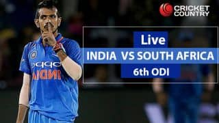 South Africa Vs India Live Cricket Score, 6th ODI Match