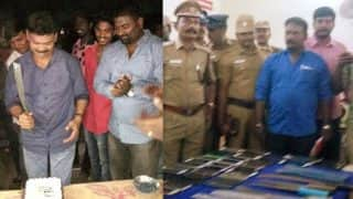 Chennai Police Gatecrashes Birthday Party of Gangster, Arrest 67 wanted Criminals