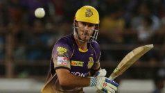 IPL2018: कोलकाता का यह दिग्गज खिलाड़ी हुआ चोटिल, टीम की मुश्किलें बढ़ी