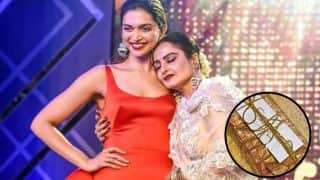 After Amitabh Bachchan, Rekha Sends A Handwritten Note And Gift To Deepika Padukone For Padmaavat