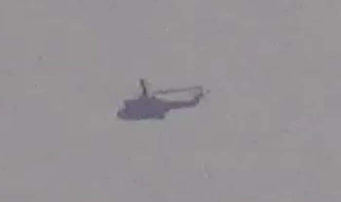 Pakistan Military Helicopter Seen Flying Within 300 Metre of Line of Control in Jammu and Kashmir, Returns Later: Reports