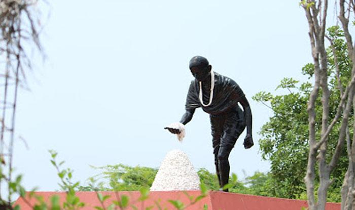 गुजरात के दांडी में बना गांधी स्मारक. (फोटो साभारः प्रवीण कुमार)