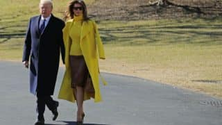 Donald Trump Tries to Hold Melania Trump's Hand, But in Vain, Yet Again (Video)