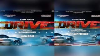 Sushant Singh Rajput - Jacqueline Fernandez' Drive Gets New Release Date But Didn't We Already Tell You So