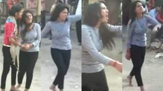 Pataudi Girl Dumped By Boyfriend Dances to Bollywood Songs Outside His House to Take Revenge (Video)