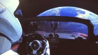 Elon Musk's Car Takes Wrong Turn Into Space