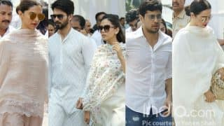 Sridevi Final Journey: Deepika Padukone, Shahid Kapoor, Sidharth Malhotra, Rekha Reach To Bid Goodbye To The Veteran Actress - Check Pics