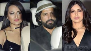 Farhan Akhtar, Bhumi Pednekar, Sonakshi Sinha Attend Karan Johar's 'Singles Only' Bash This Valentine's Day - See Pics