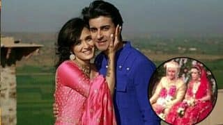 Gautam Rode - Pankhuri Awasthy Wedding: The Couple Looks Gorgeous As They Exchange Vows - Watch Videos