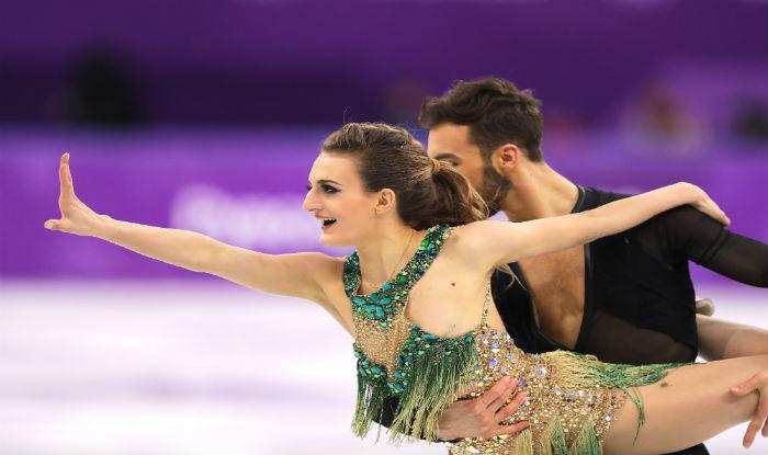 Olympic figure skating oops