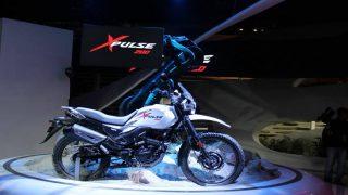 ऑटो एक्सपो 2018 : हीरो मोटोकॉर्प ने पेश की अपनी पहली 200cc एडवेंचर बाइक एक्सपल्स 200