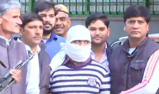 Wanted IM terrorist Ariz Khan was arrested by the Special Cell of Delhi Police (Photo/ANI)