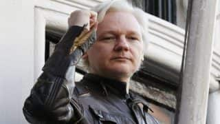 WikiLeaks Founder Julian Assange to Remain in Jail After Term Ends Over Absconding Fears