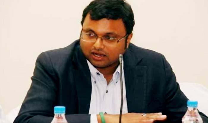 Karti Chidambaram (File image)