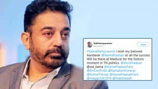 Kamal Haasan to Launch His Political Party Today, Twitterati Pour In Wishes