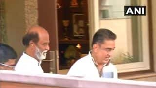 Kamal Hassan Meets Rajinikanth in Chennai Ahead of Massive Political Tour