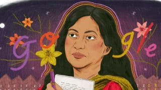 Celebrating Kamala Das: Google Doodle Honours Works of Malayalam Author