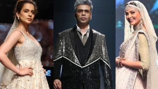 LFW 2018 : Move Over Kareena Kapoor Khan, Here's How Kangana Ranaut, Sushmita Sen, Karan Johar Made Heads Turn On The Ramp