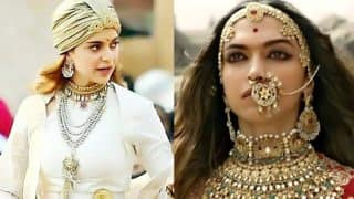 LEAKED: Kangana Ranaut As Manikarnika Looks All Set To One-Up Deepika Padukone's Padmaavat Avatar! These New Pictures Are Proof