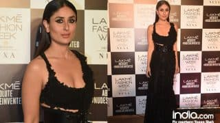 Kareena Kapoor Khan Looks Like A Vision As She Walks The Ramp For Anamika Khanna At LFW Finale 2018