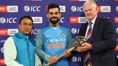 VIDEO: टीम इंडिया को मिली टेस्ट चैम्पियनशिप गदा, जानें कोहली ने क्या दी प्रतिक्रिया