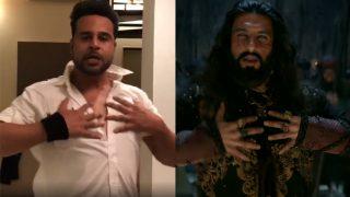 Mika Singh Shares Video of Krushna Abhishek Dancing Like Ranveer Singh's Character Alauddin Khilji in Padmaavat Song 'Khalibali'
