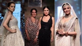 Lakme Fashion Week 2018: Kareena Kapoor Khan, Kangana Ranaut and Other Showstoppers Who Ruled the Ramp